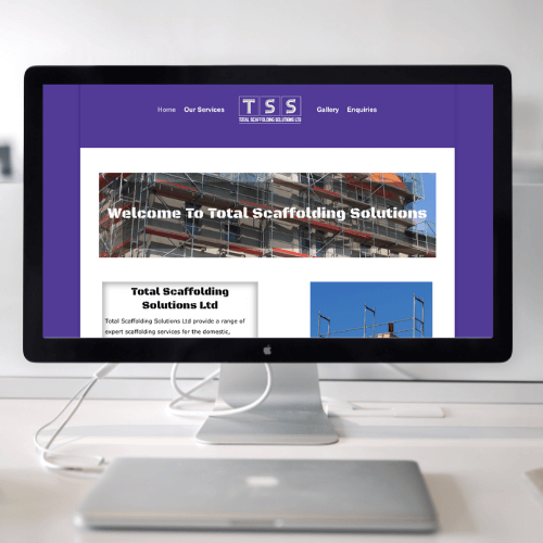 Total Scaffolding Solutions Website
